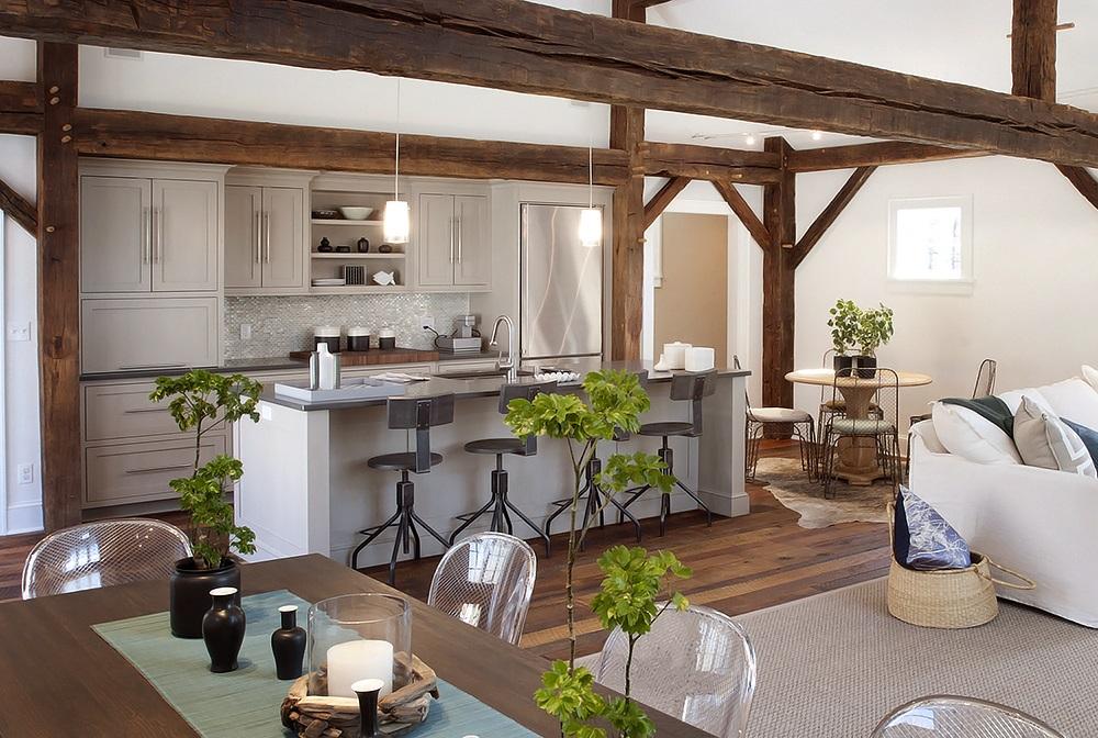 Mezcla estilos con elementos r sticos e industriales Elementos de decoracion de interiores