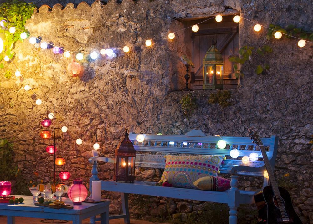 decoracion luz terrazas Mon Deco Shop
