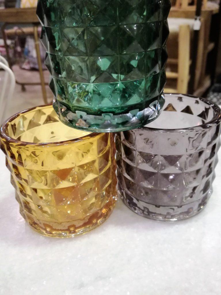 Portavelas cristal labrado - Portavelas cristal ...