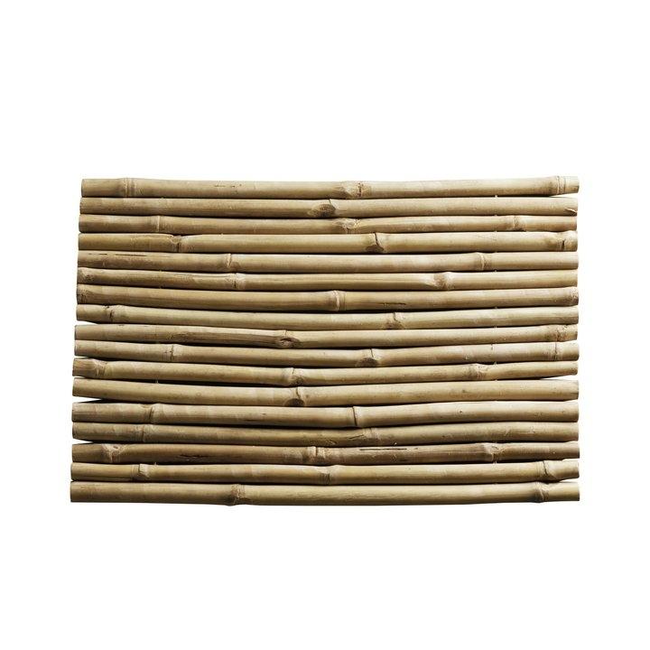 Alfombra de bamb natural para el ba o - Alfombra de bambu ...